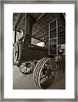 The Beast Sepia Framed Print by Steve Harrington