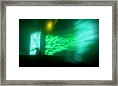 The Beat Goes On Framed Print