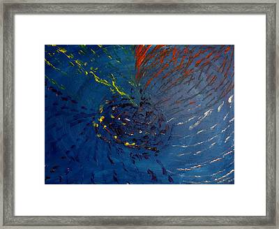 The Beauty Of Deep Ocean Framed Print by Pretchill Smith