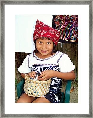 The Beautyof Innocence Framed Print by Karen Wiles