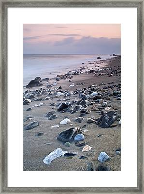 The Beggining Of The Night Framed Print by Guido Montanes Castillo
