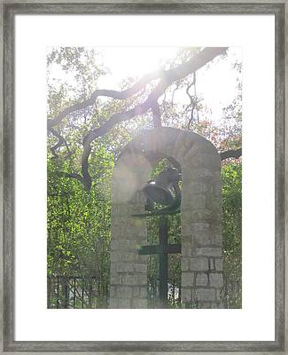 The Bell Of St. John's Framed Print by Shawn Hughes