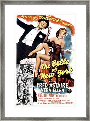 The Belle Of New York, Fred Astaire Framed Print by Everett