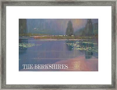 the Berkshires Framed Print by Len Stomski