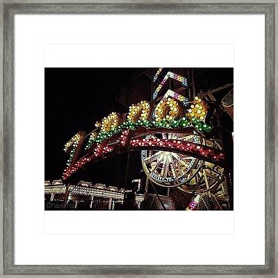 The Best Ride Framed Print