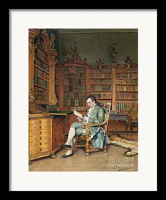 Bibliophile Framed Prints