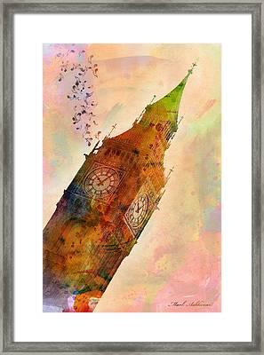 The Big Ben Framed Print by Mark Ashkenazi