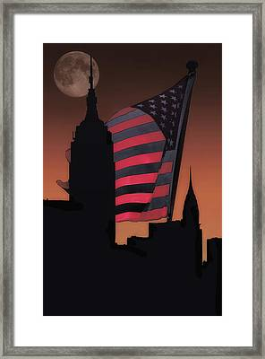 The Big City Framed Print by Tom York Images