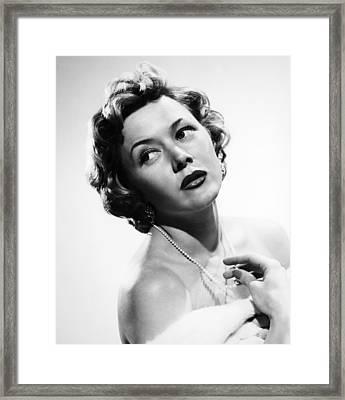 The Big Heat, Gloria Grahame, 1953 Framed Print by Everett