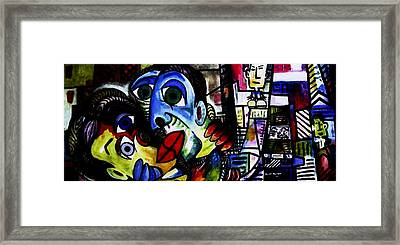 The Big Kiss Framed Print by Brent Eric Allison