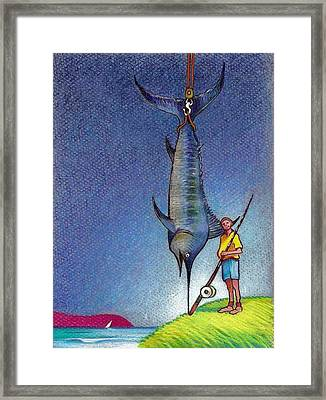 The Big One Framed Print by Rob M Harper