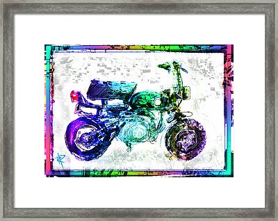 The Big Z Framed Print by Russell Pierce