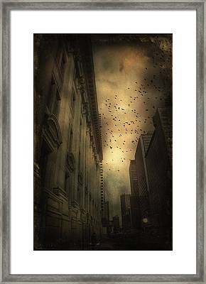 The Birds Framed Print by Peter Labrosse