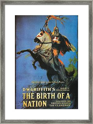 The Birth Of A Nation Framed Print by Georgia Fowler