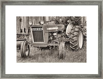 The Black And White Ford Framed Print by JC Findley