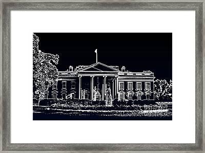 The Black House Framed Print by Joe Finney