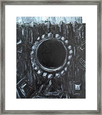 The Black Nest Framed Print by Kazuya Akimoto