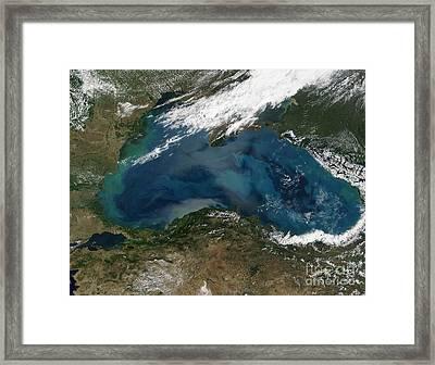 The Black Sea In Eastern Russia Framed Print by Stocktrek Images