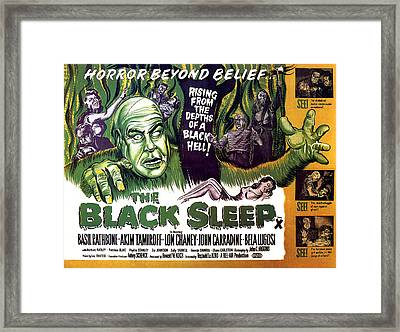 The Black Sleep, Close-up On Left Tor Framed Print