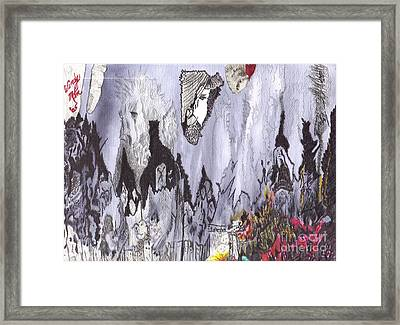 The Blessed Valleys Shall Remain Framed Print by Windy Mountain