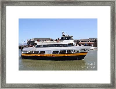 The Blue And Gold Fleet . Old Blue . San Francisco California . 7d14284 Framed Print
