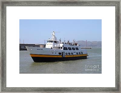 The Blue And Gold Fleet . Royal Star . San Francisco California . 7d14266 Framed Print