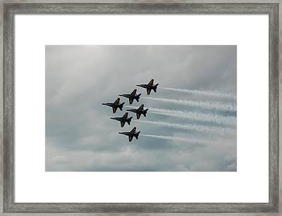 The Blue Angels Framed Print by Randy J Heath