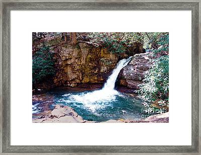 The Blue Hole Framed Print