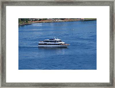 The Blue Of Puget Sound Framed Print