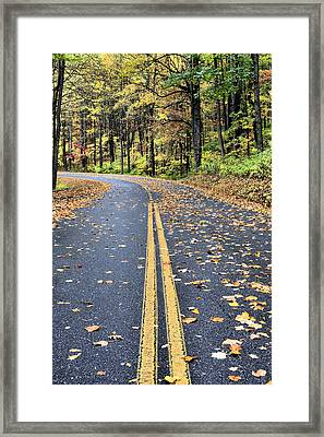 The Blue Ridge Parkway Framed Print by JC Findley