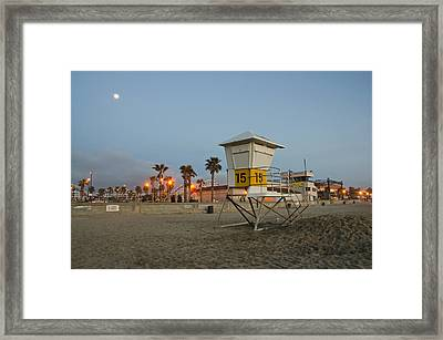 The Boardwalk Framed Print
