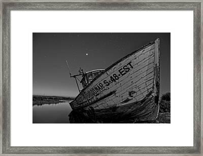 The Boat Framed Print by Armando Carlos Ferreira Palhau