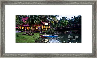 The Boat Framed Print by John Buxton