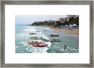 The Boat Race Framed Print