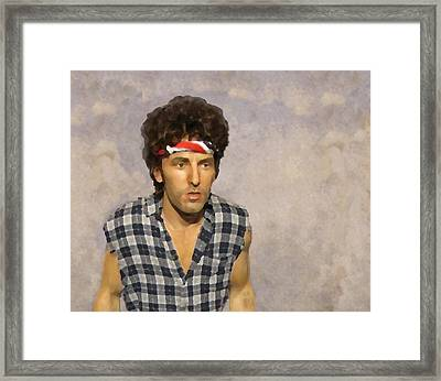 The Boss Framed Print by David Dehner