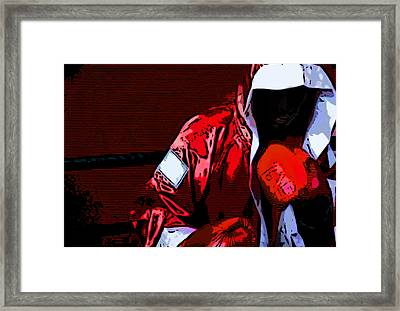 The Boxer Framed Print by Rpics Rpics