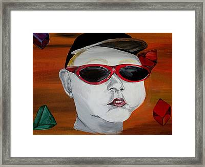 The Boy Framed Print by Mark Moore