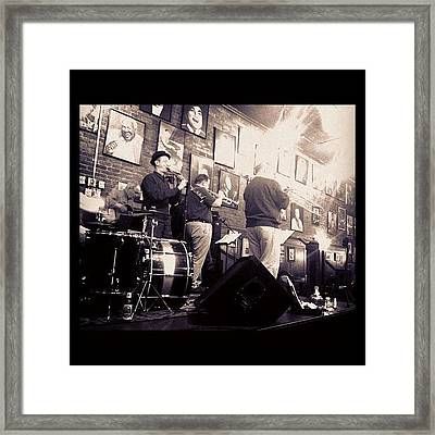 The Brass Section... #music #dixie Framed Print
