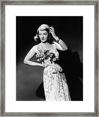 The Bride Came C.o.d., Bette Davis, 1941 Framed Print