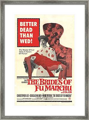 The Brides Of Fu Manchu, Christopher Framed Print