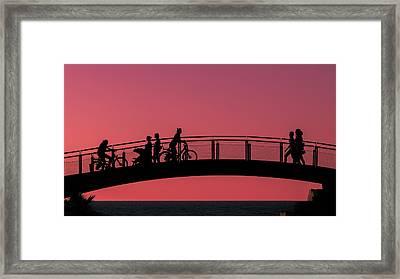 The Bridge Framed Print by Amr Miqdadi