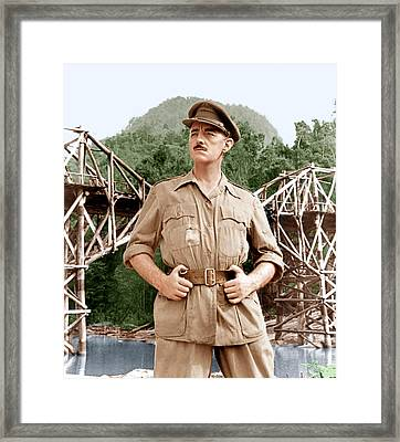 The Bridge On The River Kwai, Alec Framed Print by Everett