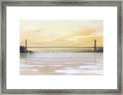 The Bridge Framed Print by Tom York Images