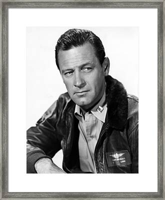 The Bridges At Toko-ri, William Holden Framed Print