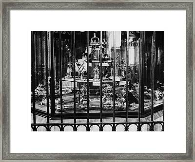 The British Crown Jewels, Circa 1930s Framed Print by Everett