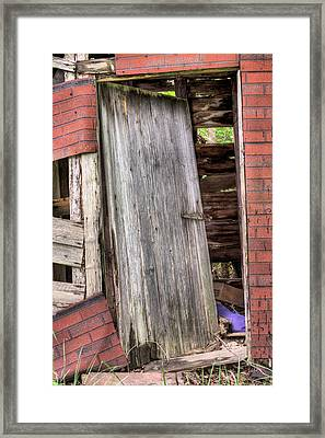 The Broken Home Framed Print by JC Findley