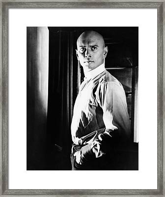 The Brothers Karamazov, Yul Brynner Framed Print by Everett
