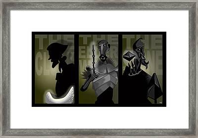 The Brothers Framed Print by Lisa Leeman