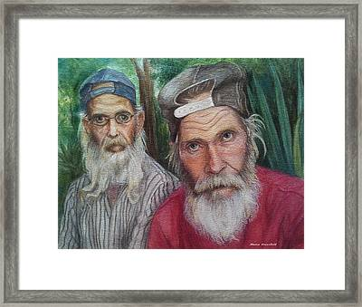 The Brothers Framed Print