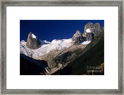 The Bugaboos Canada Framed Print